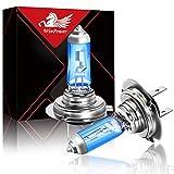 WinPower H7 / PX26d Halogen Scheinwerferlampen 55W 5000k Warmweiß Fernlicht/Abblendlicht Lampe 12V Auto Motorrad Nebellichter Birne, 2 Stücke